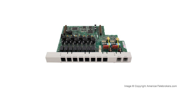 KX-TA82481 2-Port Analog CO Line and 8-Port Hybrid Extension Card