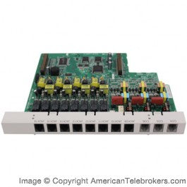 KX-TA82483 3-Port Analog CO Line and 8-Port Hybrid Extension Card