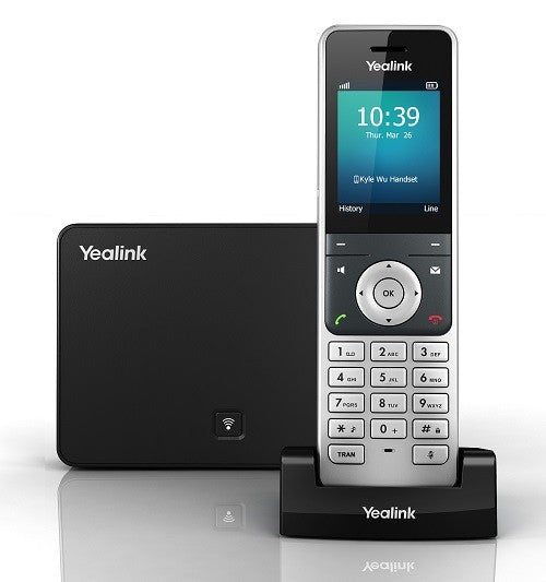 Yealink W56P IP DECT Cordless Phone System