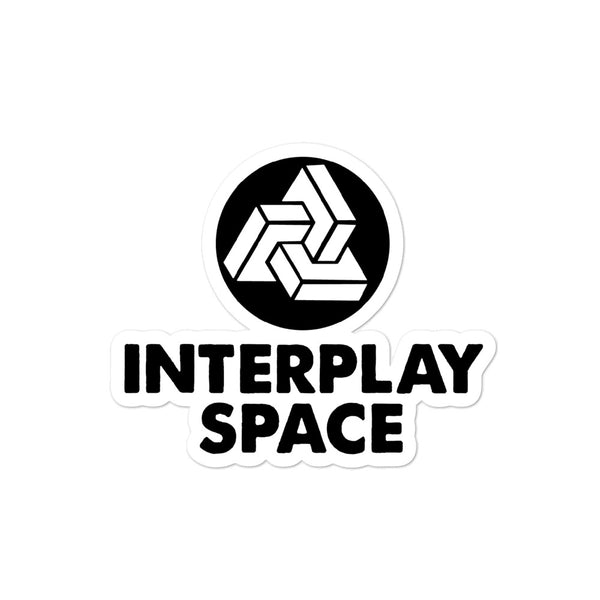 Interplay Space Sticker