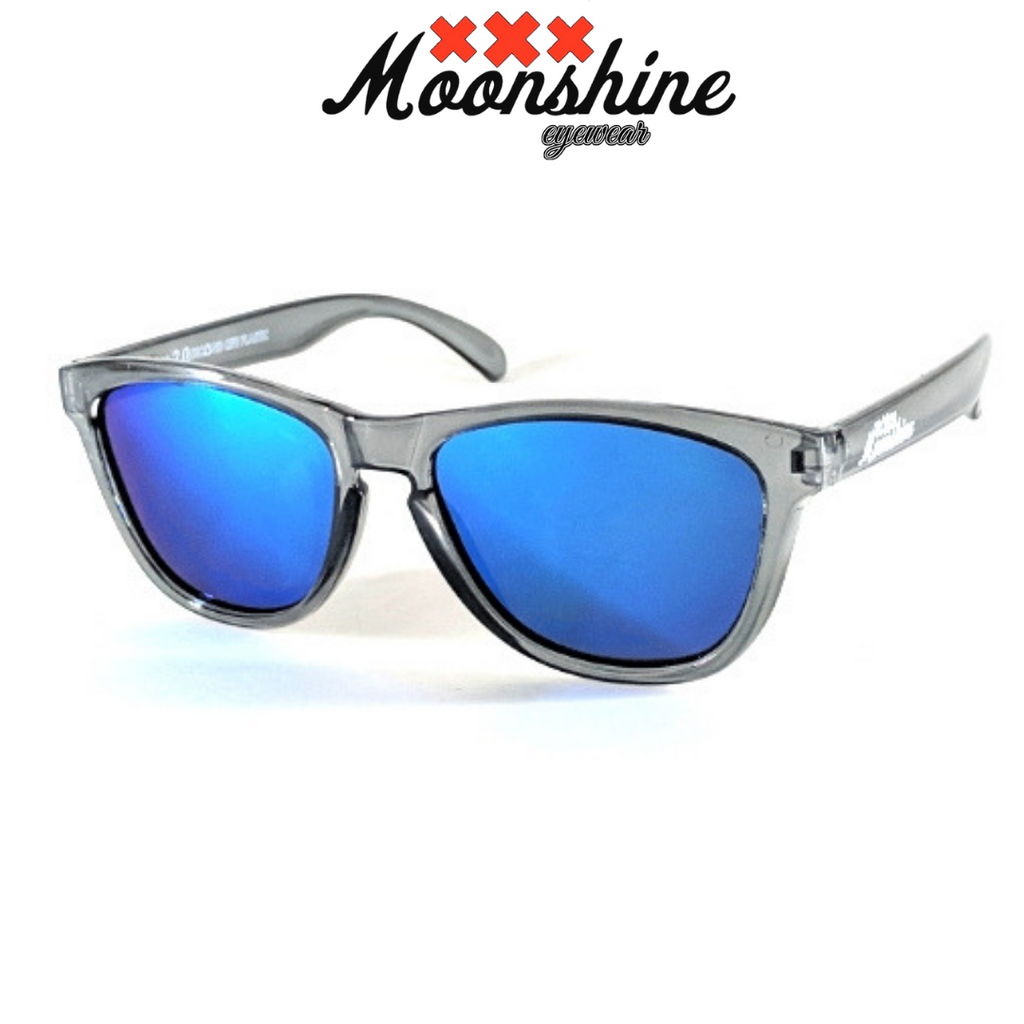 ReMix 2.0 Raw grey & Blue - Moonshine eyewear