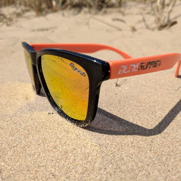 ReMix 2.0 Black & Orange / Fire (overstock) moonshine-eyewear