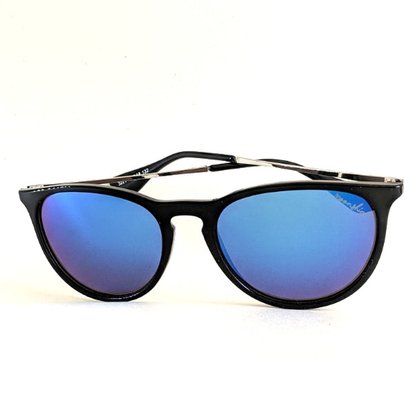 Sundown Gloss Black/Blue - Moonshine eyewear
