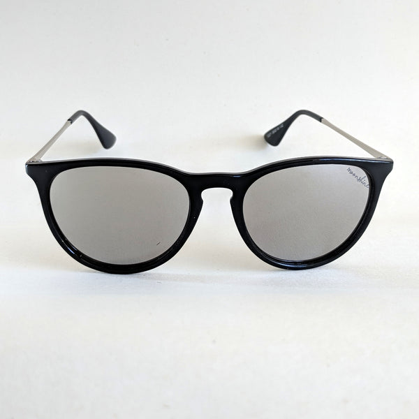 Sundown Gloss Black/Silver - Moonshine eyewear