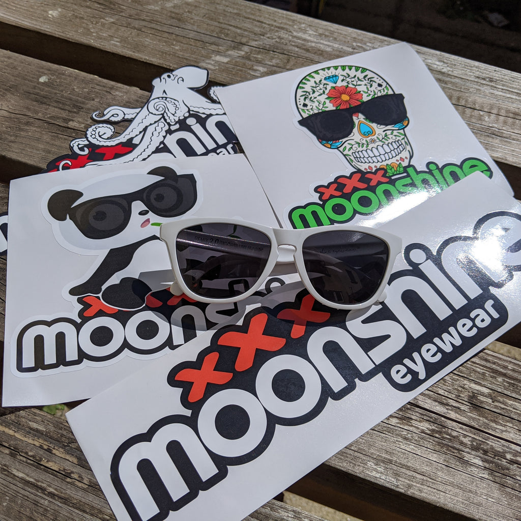 Moonshine Sticker pack - Moonshine eyewear