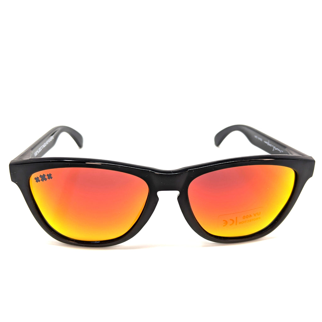 ReMix 2.0 Gloss Black & Red mirror - Moonshine Eyewear