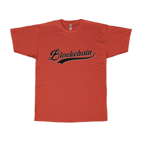 Blockchain Baseball Tee - General Crypto Store
