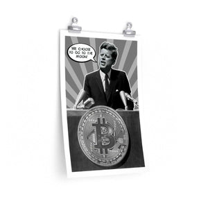 To The Moon Poster - General Crypto Store