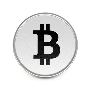 Bitcoin Metal Pin - General Crypto Store