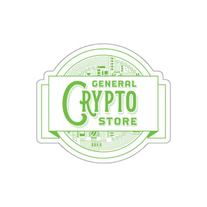 GCS Logo Sticker - General Crypto Store