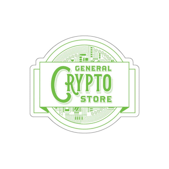 GCS Logo Sticker-Paper products-General Crypto Store