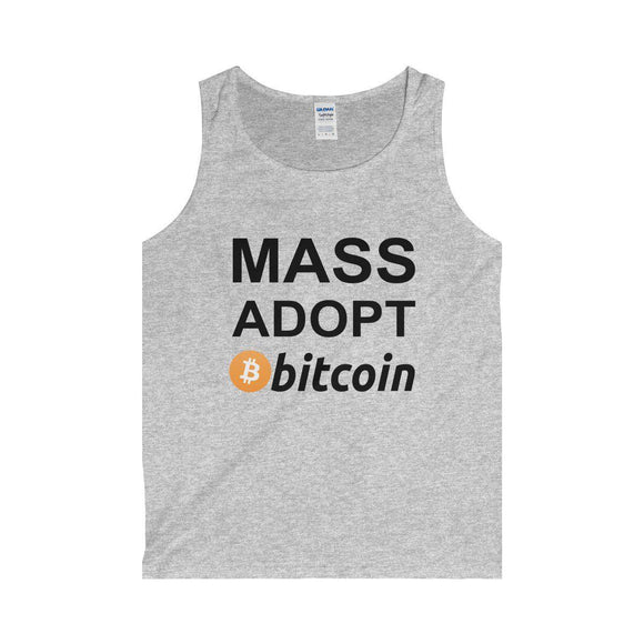 Mass Adopt Bitcoin Tank - General Crypto Store