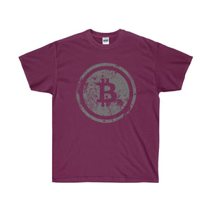 Distressed Bitcoin Tee - General Crypto Store