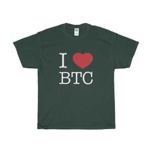 I Heart BTC White - General Crypto Store