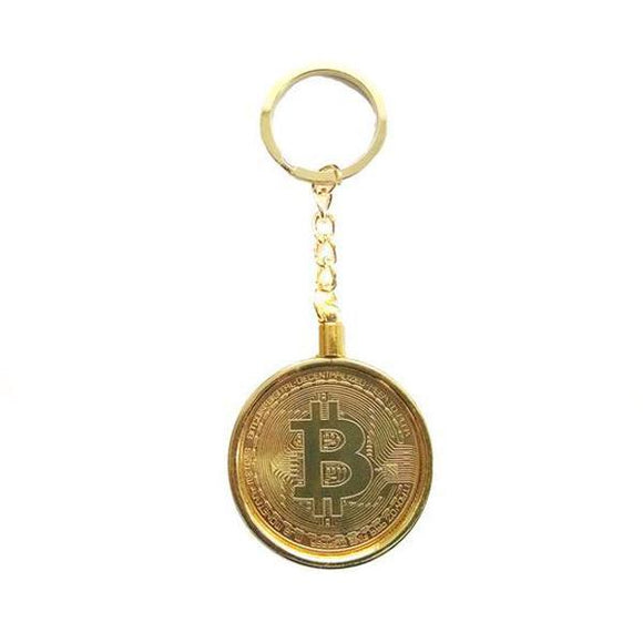 Metal Bitcoin Keychain-Accessories-General Crypto Store