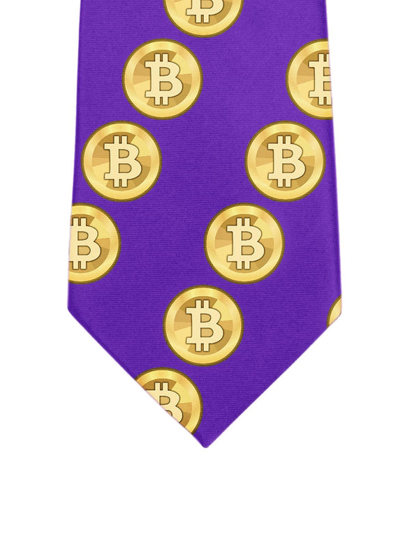 Gold BTC Tie - General Crypto Store