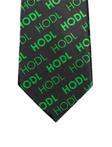 HODL Tie - Bullish Green - General Crypto Store