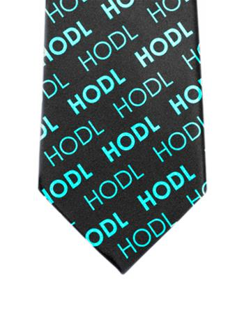 HODL Tie - Trader Teal - General Crypto Store