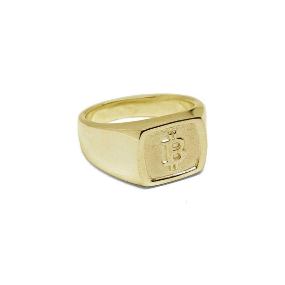 Bitcoin Square Ring - General Crypto Store