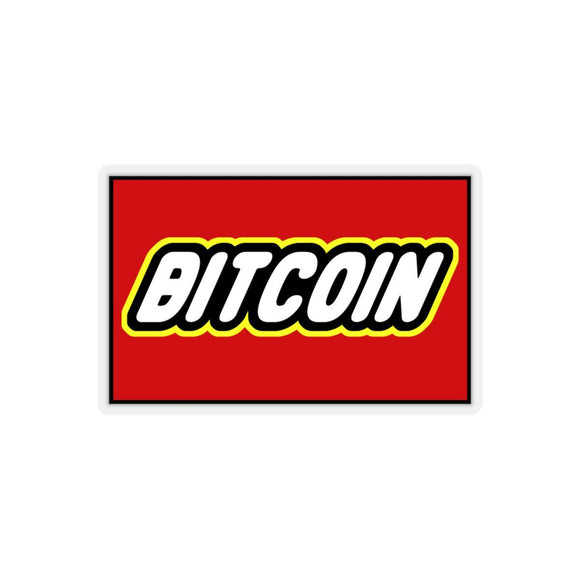 Bitcoin Blocks Sticker-Paper products-General Crypto Store