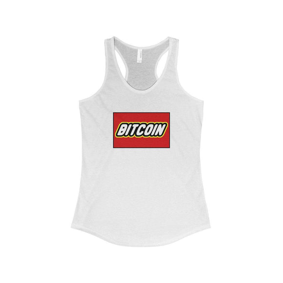Bitcoin Blocks Women's Tank - General Crypto Store