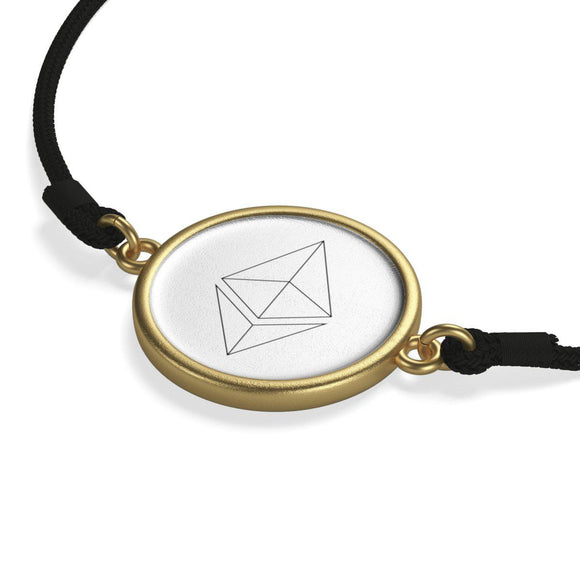 Ethereum Symbol Cord Bracelet-Accessories-General Crypto Store