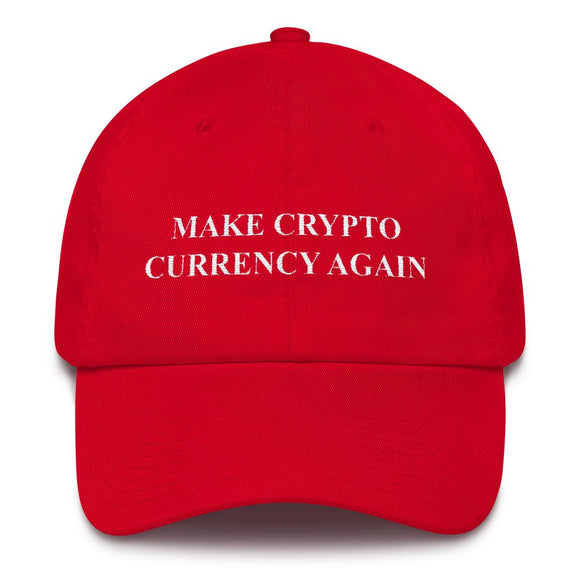 Make Crypto Currency Again Hat - General Crypto Store