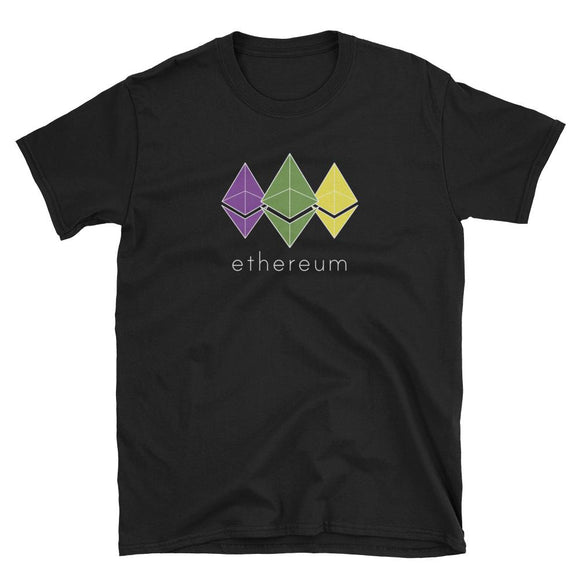 Triple ETH T-Shirt-General Crypto Store