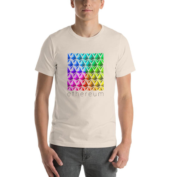 Ethereum Color Tee - General Crypto Store