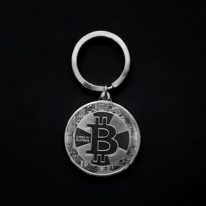 Mini Metal Bitcoin Keychain - General Crypto Store
