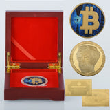 Collectible Metal Bitcoin with Box - General Crypto Store