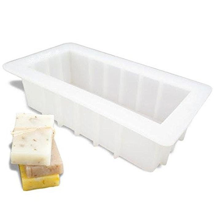 "10"" Silicone Loaf Soap Mold"