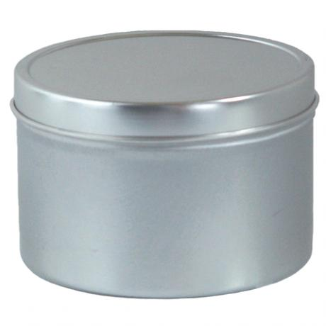 8 oz Round Candle Tins with Covers