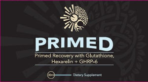 PRIMED Growth Hormone Releasing Peptides w/ Glutathione - PrimalHacker