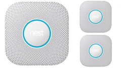 604-002 Nest Protect Smoke Alarm 3 Pack White