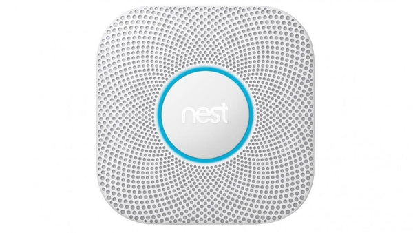 Nest Protect Smoke Alarm Battery Powered White