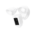 601-001 Ring Floodlight Security Cam White