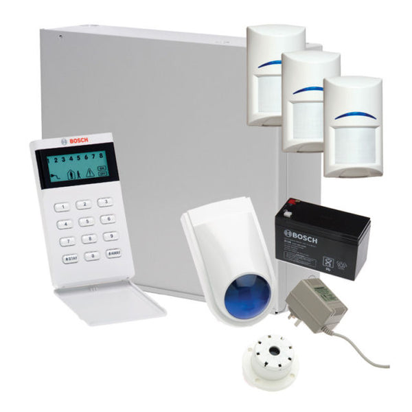 Bosch Solution 3000 Alarm System With 3 PIRs