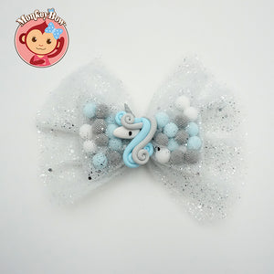 Pominnie Bow - Angel Unicorn (Large)