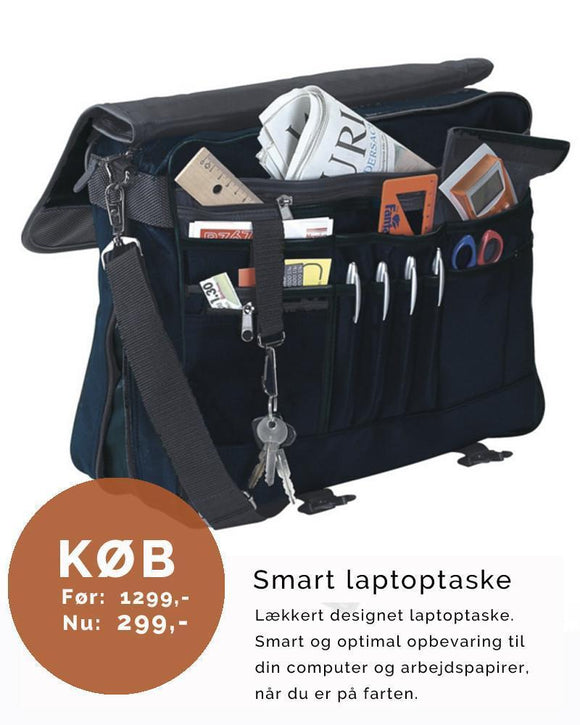 Smart laptoptaske