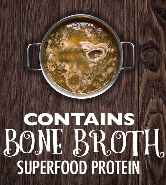 Contains Bone Broth Superfood Protein for Dogs