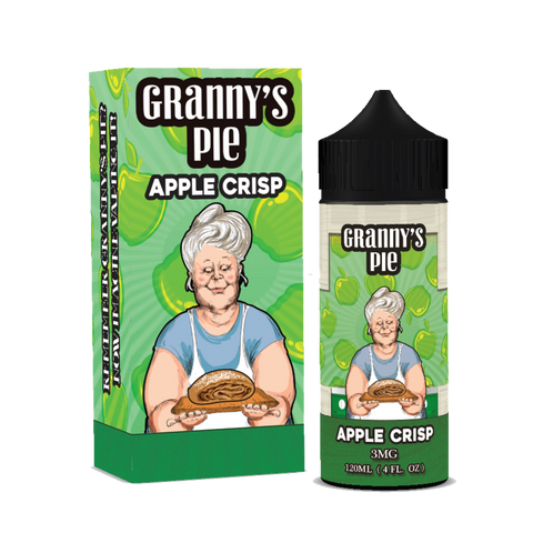 Vape Breakfast Classics - Granny's Pie Apple Crisp