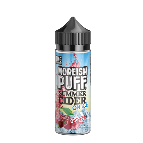 Moreish Puff Summer Cider On Ice - Cherry