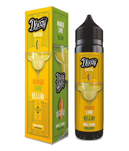 Doozy Vape -Cocktail - Mango Lime Bellini
