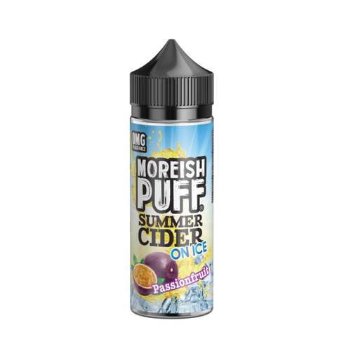 Moreish Puff Summer Cider On Ice - Passionfruit