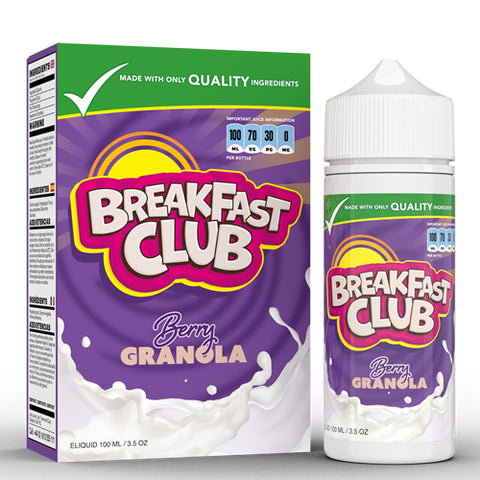 Breakfast Club - Berry Granola * FREE NIC SHOTS*
