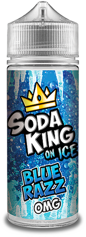 Soda King On Ice - Blue Razz *FREE NIC SHOTS*