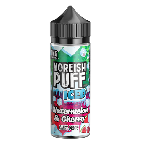Moreish Puff ICED - Watermelon and Cherry Candy Drops