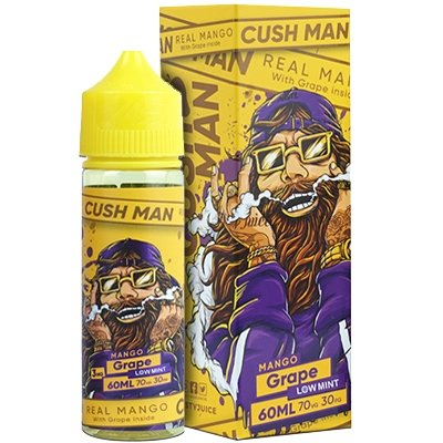 Cush Man Series  By Nasty Juice - Mango And Grape