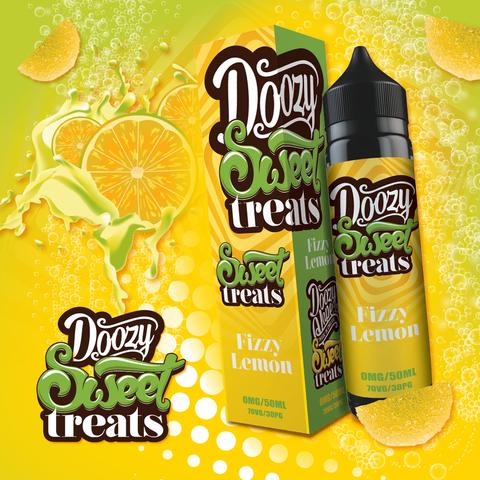 Doozy Vape Sweet Treats - Fizzy Lemon